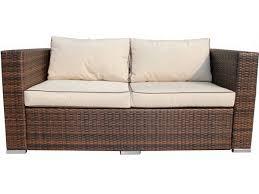 ascot 2 seat sofa rattan garden furniture - Sofa Rattan