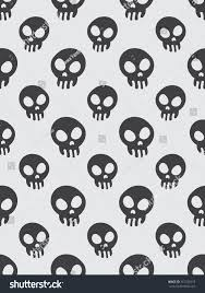 halloween background funny seamless pattern background halloween concept funny stock vector