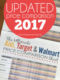 black friday deals 2017 target pdf the ultimate aldi target u0026 walmart price comparison sheet