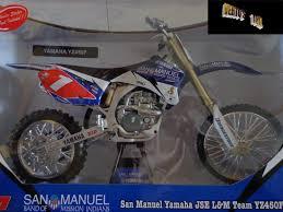 diecast motocross bikes verto u0027s toyz in stock die cast 1 6 scale yamaha san manuel yz450f