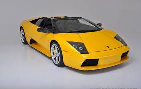 Lamborghini Murcielago Yellow - 2005 lamborghini murcielago roadster exotic and classic car
