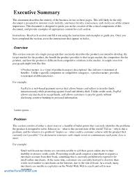 simple business report template simple business report template awesome executive summary format