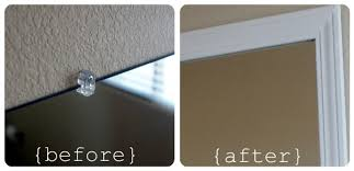 Frame Your Bathroom Mirror Frame Your Bathroom Mirror Over Plastic Clips Somewhat Simple
