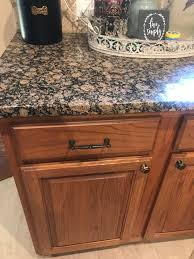 kitchen cabinet color with brown granite countertops how to update your granite countertops m interiors