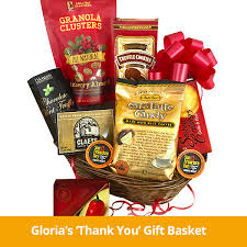 thank you baskets basket caravan gourmet gift baskets corporate gifts personal