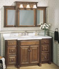 3 Door Mirrored Bathroom Cabinet by 48