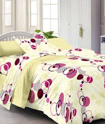 Cotton Single Bed Sheets Online India Story Home Stripes Design Cotton 3 Single Bed Sheets With 3