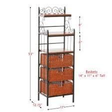 Bakers Racks With Drawers Baker Racks For Kitchen Best Deals Online Ez Pz Com Store