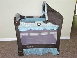 playpen with bassinet and changing table crib topper u2014 ultrabide