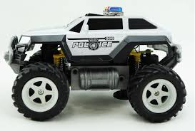 monster truck videos with music amazon com prextex remote control monster police truck radio