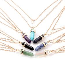 opal stone silver necklace images Opal stone moon necklace bethewilderness jpg