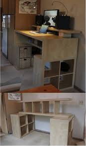 Ikea Diy Standing Desk by Handy Desks Created From Ikea Products