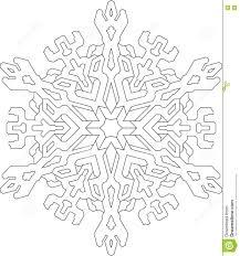 snowflake vector snowflake vector line free vectors graphics
