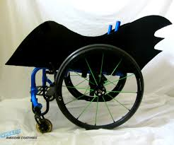 Awesome Costumes Hero Sports Car Costume Kit For Wheelchair