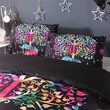 duvet cover set bohemian elephant printed bedding set 1 duvet