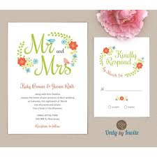 22 best wedding invitation and rsvp card pack images on