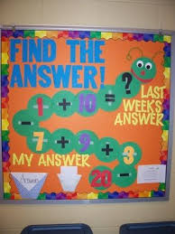 Math Decorations For Classroom Best 25 Math Boards Ideas On Pinterest Math Bulletin Boards