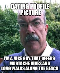 Guy With Mustache Meme - eyebrow man mustache ride eyebrow man know your meme