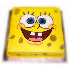 sponge bob cakes square spongebob cake