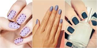 12 cool designs for matte nails u2014 matte nail art ideas