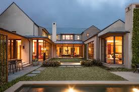 u shaped houses contemporary home exteriors home design ideas answersland com