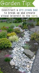 How To Landscape A Sloped Backyard - 50 super easy dry creek landscaping ideas you can make