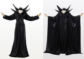 Halloween Costume Maleficent Aliexpress Buy Maleficent Black Long Leather Cloak