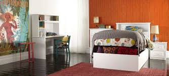 Single Bedroom Furniture Odyssey White Gas Lift Kids Bed And Bedroom Furniture Suite With