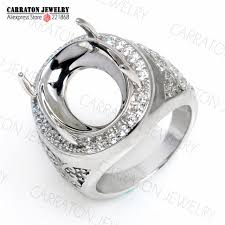 aliexpress buy mens rings black precious stones real rshc3002 genuine 925 sterling silver high quality big men s ring