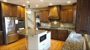 How To Paint Kitchen Cabinets White Without Sanding Kitchen Fabulous Refinishing Oak Cabinets Before And After