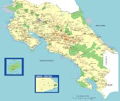 Driving Maps About Costa Rica U2014 Green Terra Tours