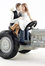 tractor cake topper wedding cake toppers personalized accessories wedding collectibles