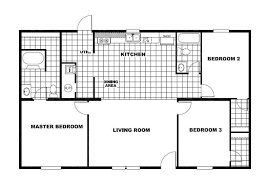 home floor plan trumh pacman excitement tru28443a mobile home for sale