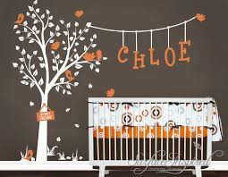 Wall Nursery Decals Large Tree Wall Decal Nursery Tree Wall Decal Nursery Easy