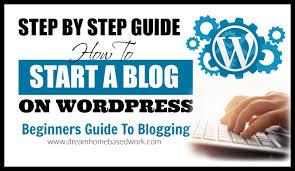 tutorial wordpress blog how to create a free website blog on wordpress com tutorial 2015