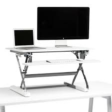 Ikea Adjustable Height Standing Desk White Medium Peak Adjustable Height Standing Desk Riser The