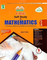 evergreen cbse self study in mathematics term 2 class 9