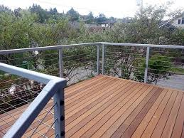 advantage using stainless steel deck railing u2014 railing stairs and