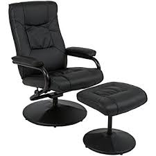 Swivel Chair And Ottoman Best Choice Products Leather Swivel Recliner Chair