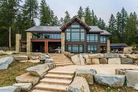 Timber Frame Cottage by Pickles Timber Frames Vancouver Island Custom Timber Frame Homes