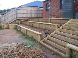 Best  Wood Retaining Wall Ideas On Pinterest Sleeper Wall - Timber retaining wall design