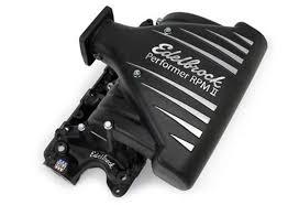 mustang intake manifold edelbrock performer rpm ii mustang intake manifold 86 95 125