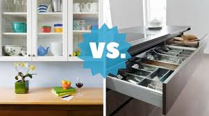 kitchen cupboard with drawers kitchen drawers vs cupboard cabinets what s best home