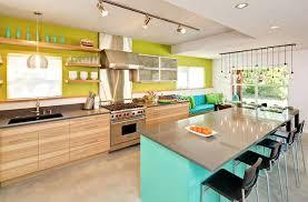 kitchen color schemes with cream cabinets light wood dark