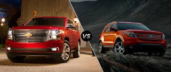 ford explorer vs chevy tahoe 2015 chevy tahoe vs 2015 ford explorer in naperville il