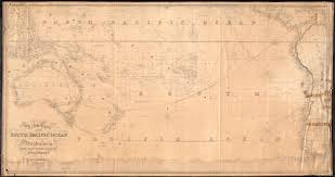 Map Of South Pacific A New Chart Of The South Pacific Ocean Digital Commonwealth