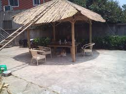 How To Build A Tiki Hut Roof Bamboo Roof Tiki Hut