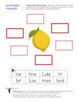 letter l worksheets sparks