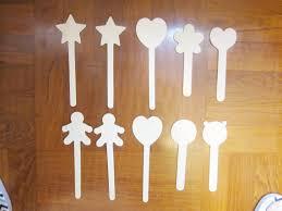 wholesale lollipop sticks 10 popsicle sticks with shapes lollipop stick wood craft