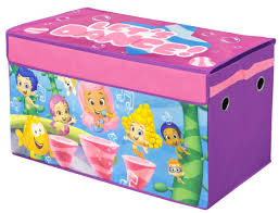 Bubble Guppies Bedroom Decor Nickelodeon Bubble Guppies Collapsible Toy Chest Toys